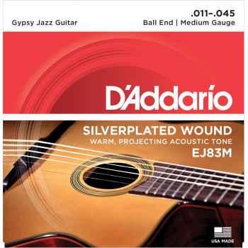 D´addario EJ83M Gypsy Jazz Medium Cuerdas para Guitarra Acústica